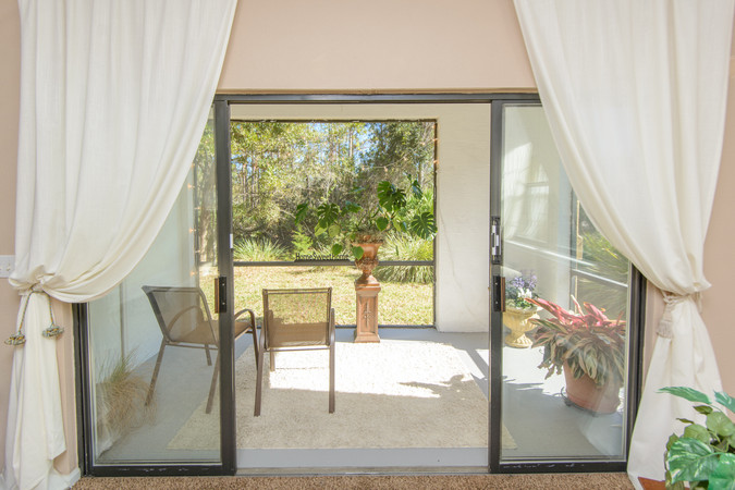 The patio can bee glassed in - adding more living space