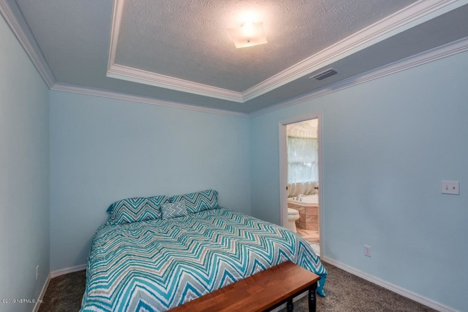 Master Suite with Tray Ceilings