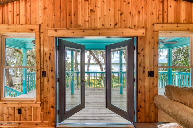 French Doors to the Porches