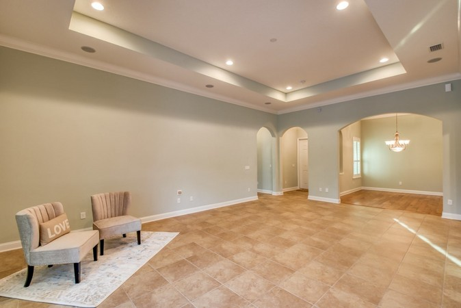 Generous space for entertaining